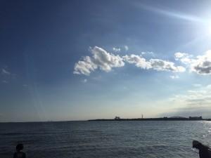 葛西臨海公園景色海2